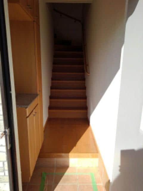 ヌーヴォー三木A 201号室の玄関