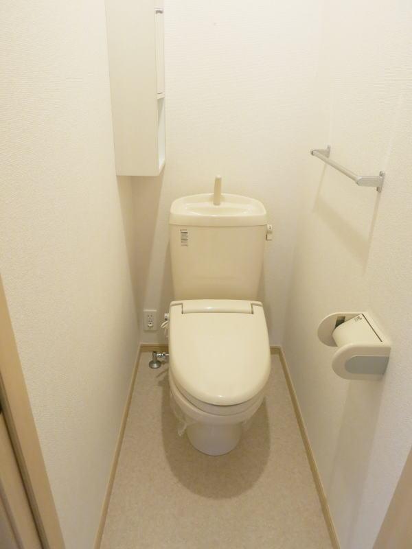 U ユートピア 101号室のトイレ