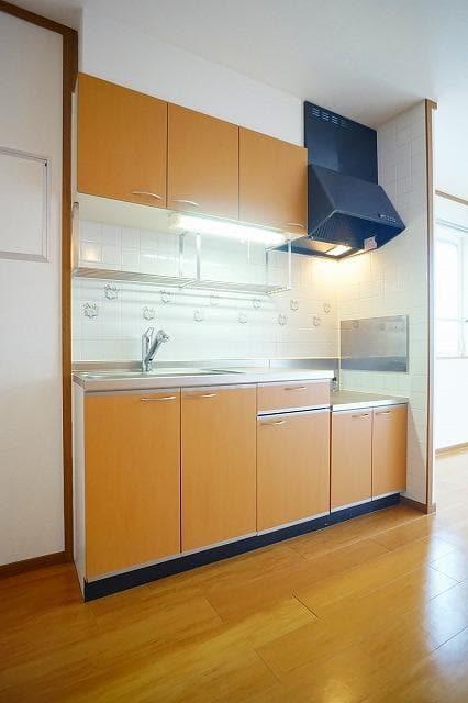 ソレーユシャンブル354B 02010号室のキッチン
