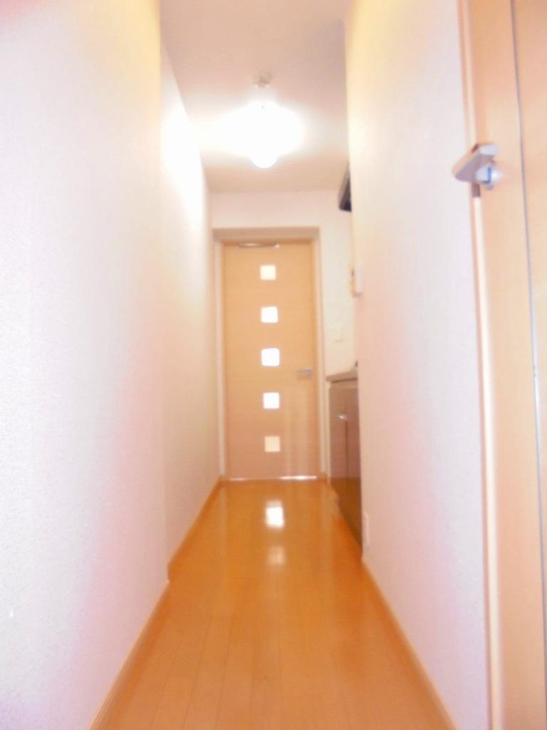 エバーグリーン 303号室の玄関
