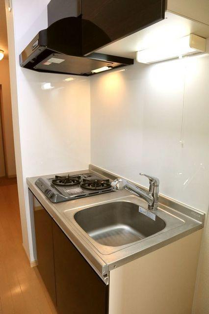 エバーグリーン 401号室のキッチン
