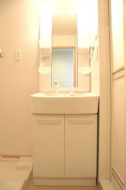 エバーグリーン 401号室の洗面所
