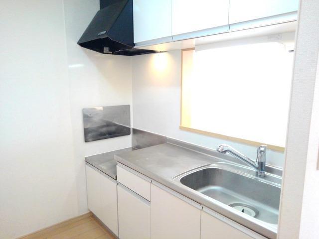 ペアハウスヒロセH 02010号室のキッチン