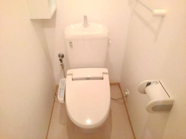 ペアハウスヒロセH 02010号室のトイレ