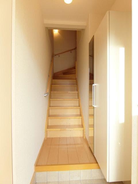 サン・クローネ チヨダA 02020号室の玄関