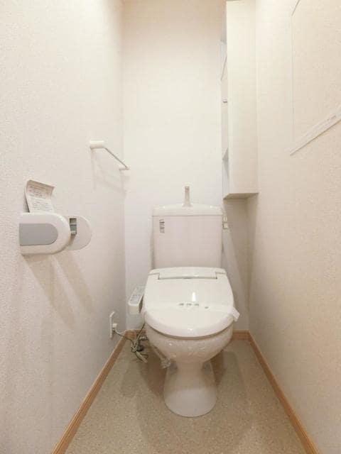 サン・クローネ チヨダA 02020号室のトイレ