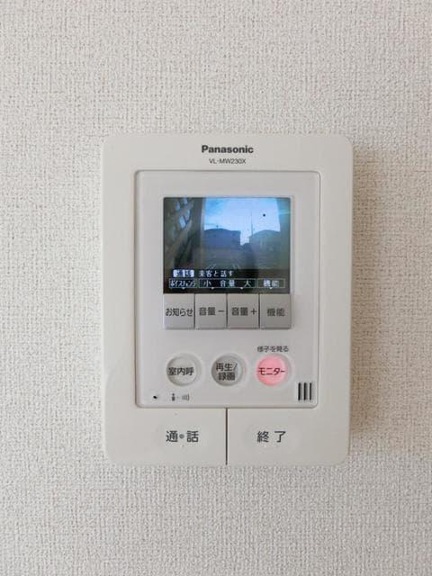 サン・クローネ チヨダA 02020号室のセキュリティ
