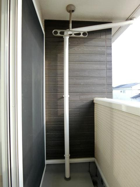 サン・クローネ チヨダA 02020号室のバルコニー