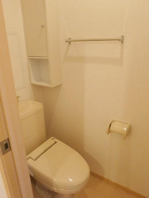 メゾン・アムール Ⅲ 201号室のトイレ