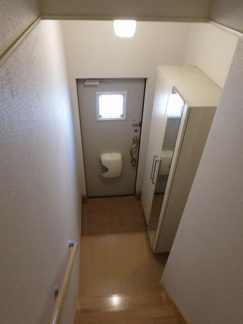 メゾン・アムール Ⅲ 201号室の玄関