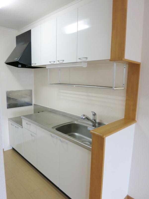 アルモニー 202号室のキッチン