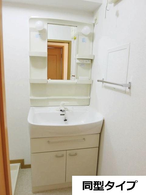 カーサ・プラシードA 201号室の洗面所