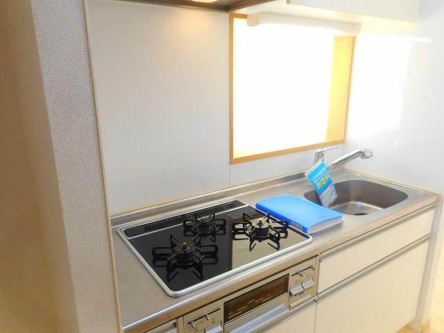 サンハイツ港 301号室のキッチン