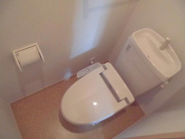 エル クレジェンドⅢ 01010号室のトイレ