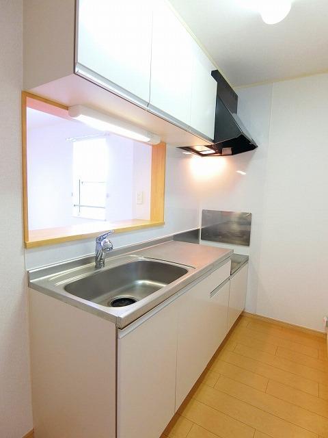 絆KIZUNA B 02010号室のキッチン