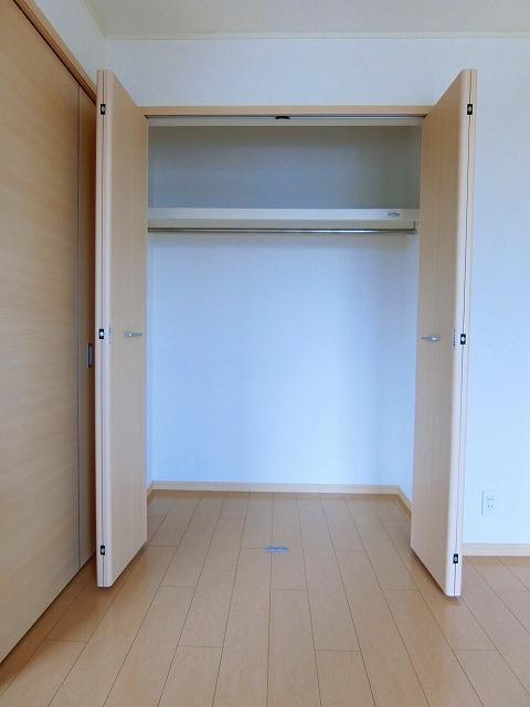絆KIZUNA B 02010号室の収納