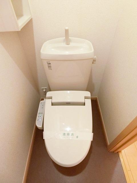 絆KIZUNA B 02010号室のトイレ