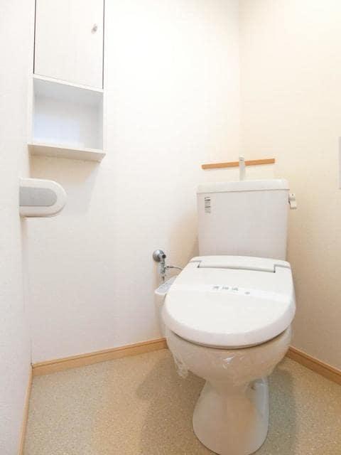 ブッシュクロ-バ-Ⅱ 03040号室のトイレ