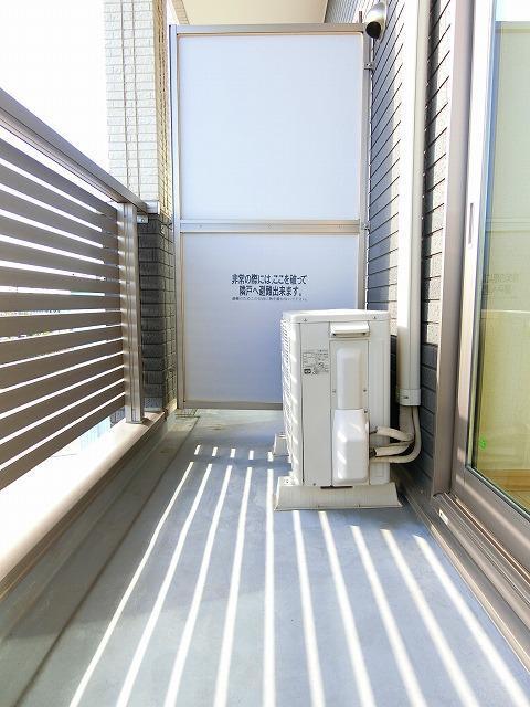 ブッシュクロ-バ-Ⅱ 03040号室のセキュリティ