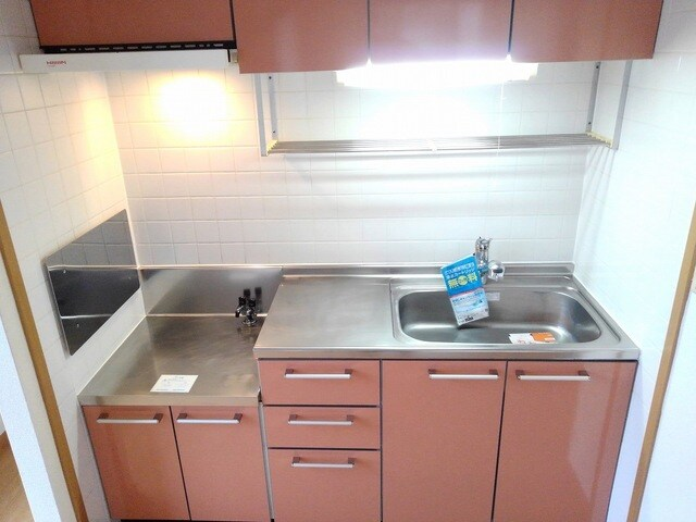 エテルネルA 02030号室のキッチン