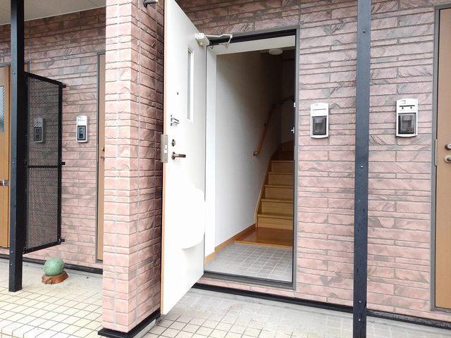 エテルネルA 02030号室の玄関