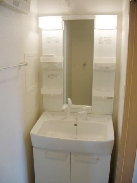 ヴィラプリムローズD 02010号室の洗面所