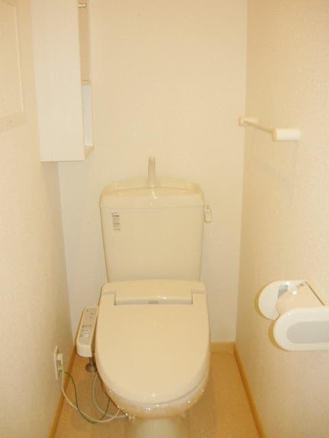 ヴィラプリムローズD 02010号室のトイレ