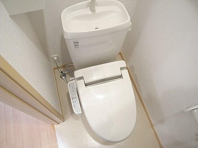 ハイム和久里 202号室のトイレ