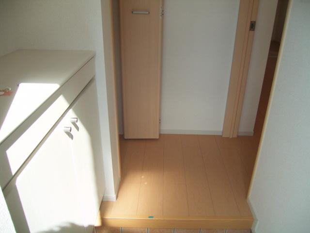 カーサセレーノ 01050号室の玄関