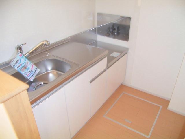カーサセレーノ 01050号室のキッチン