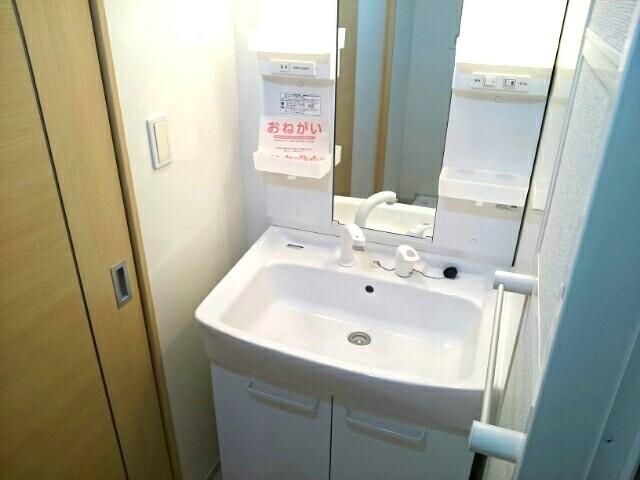 サニーハウス栄 201号室の洗面所