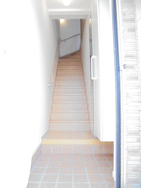 ルミエール 202号室の玄関
