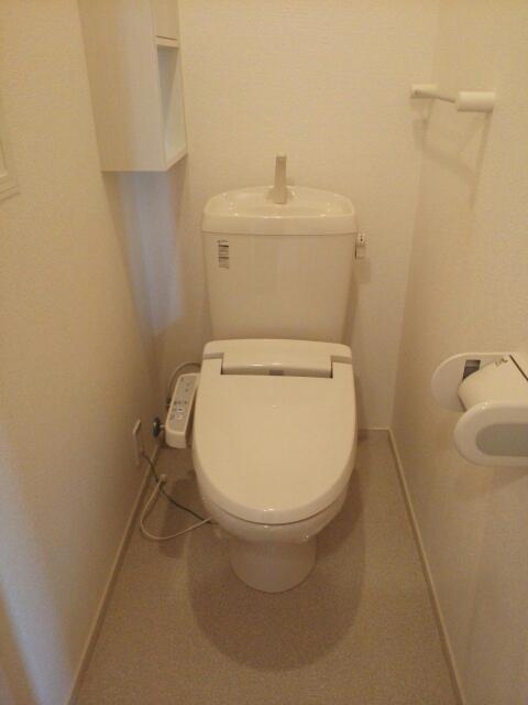 メゾン カワセミ 02010号室のトイレ