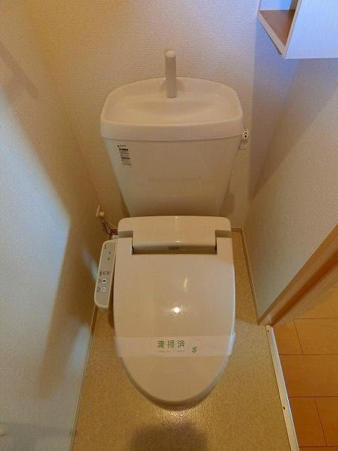 ガーデンフレンドⅠ 01010号室のトイレ