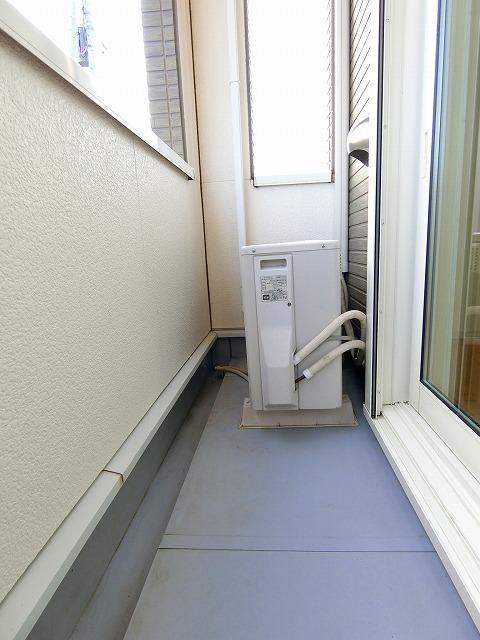ガーデンフレンドⅠ 01010号室のバルコニー
