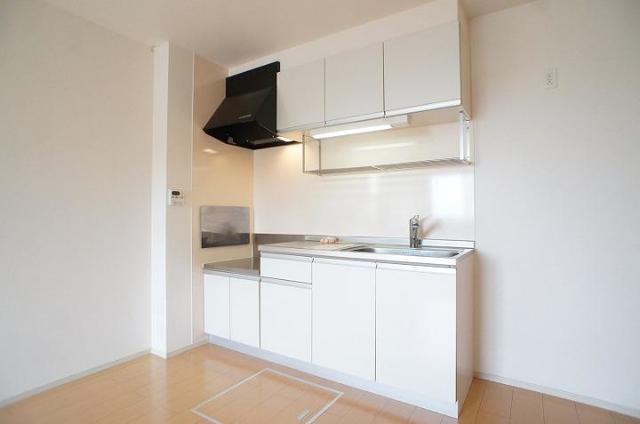 ブレッザⅡ 01010号室のキッチン