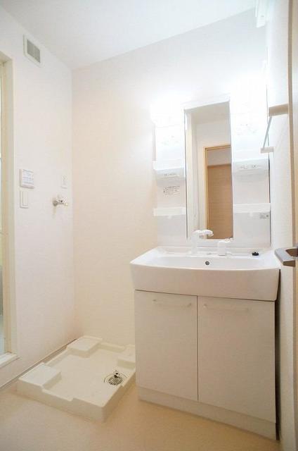 ブレッザⅡ 01010号室の洗面所