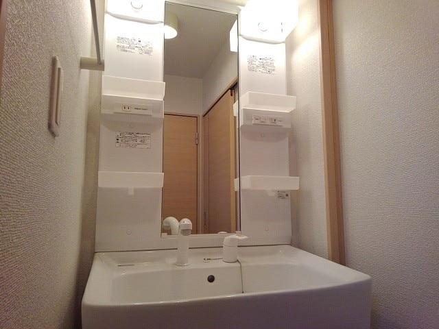 マンダリン ダック A 201号室の洗面所