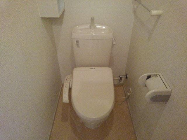 マンダリン ダック A 201号室のトイレ