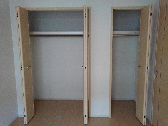 マンダリン ダック A 201号室の収納