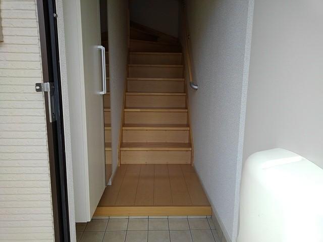 マンダリン ダック A 201号室の玄関