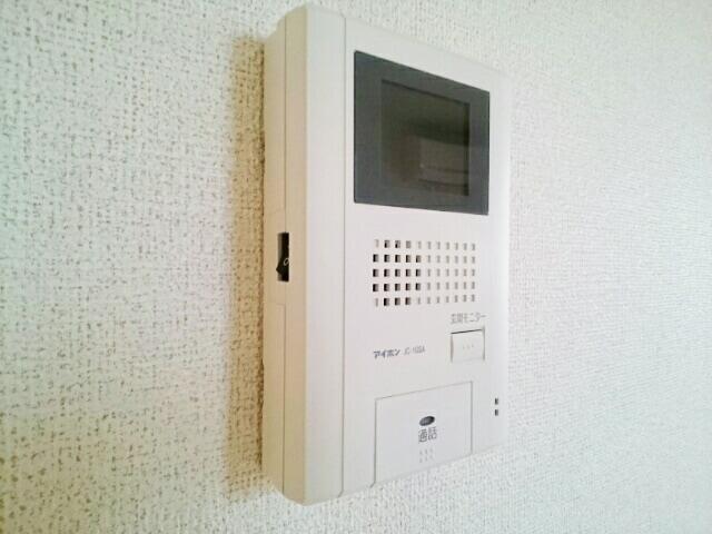 プレジールⅡ 201号室のバルコニー