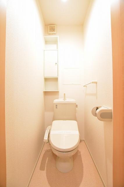 ティール Ⅱ 02020号室のトイレ