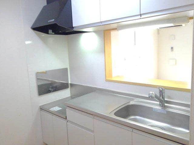 カーサ・セレノC 01010号室のキッチン
