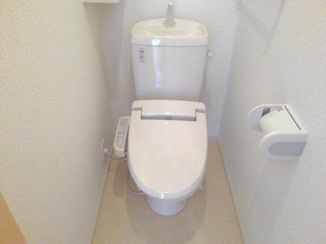 カーサ・セレノC 01010号室のトイレ