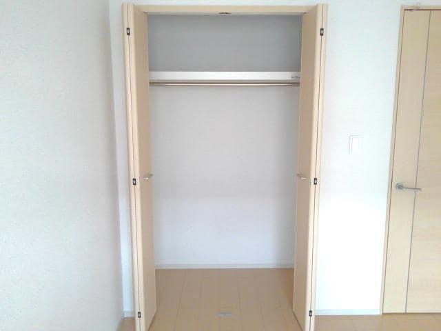 カーサ・セレノC 01010号室の収納
