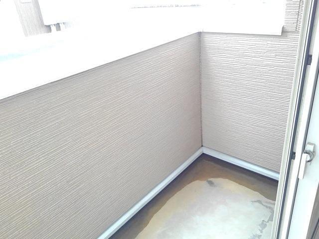 カーサ・セレノC 01010号室のバルコニー