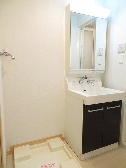 エテルノ 403号室の洗面所