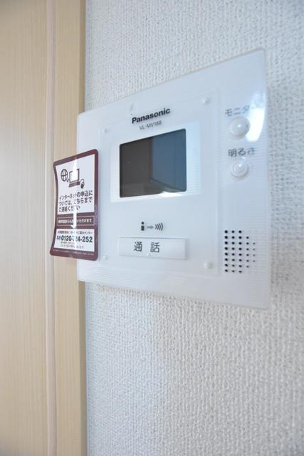 アースリバーD 01010号室のセキュリティ