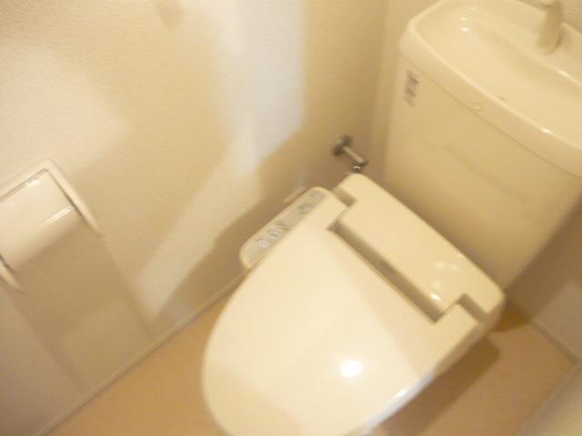 カーサ・セレノD 02010号室のトイレ